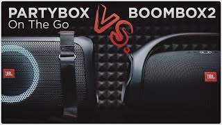 JBL Partybox On The Go vs. Boombox 2 | Bass Test | 2020