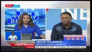 Budalangi MP Ababu Namwamba reacts to the senate being abolished