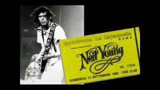 Neil Young Live in Rome, 1982 - Full concert