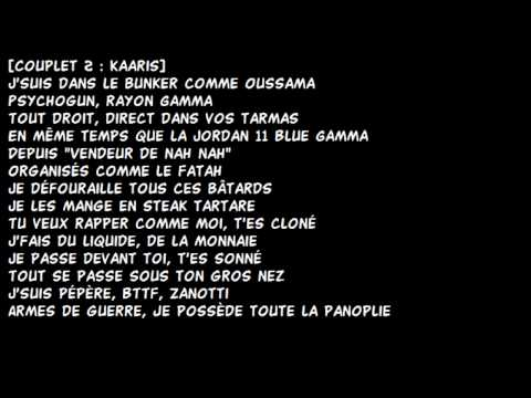 Kaaris - Crystal Ft. Future / PAROLES-LYRICS