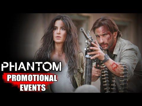 Phantom Movie (2015) | Saif Ali Khan, Katrina Kaif | Uncut Promotional Events