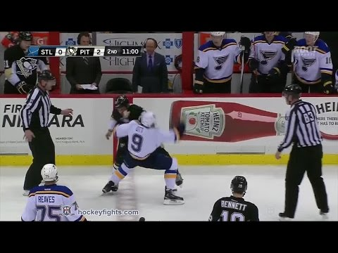 Craig Adams vs. Steve Ott