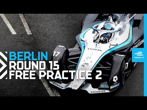 フォーミュラE ベルリンE-PRIX フリープラクティス2のフル配信動画