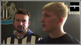 Newcastle United fans on the 2-1 defeat to Spurs