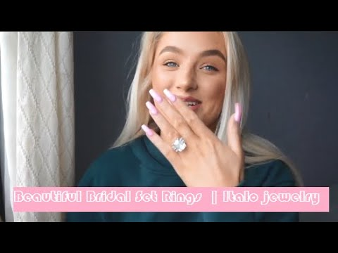 Affordable Bridal Set Rings  | Italo jewelry Review By Nina Williams (SKU: 231105)