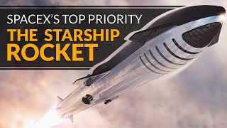 SpaceX Starship is now the top priority, Crew Dragon updates, Starlink launch with Planet rideshare
