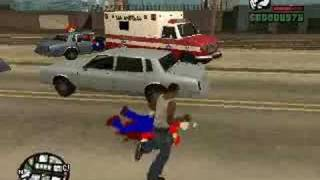 preview picture of video 'GTA San Andreas - MARIO MOD'