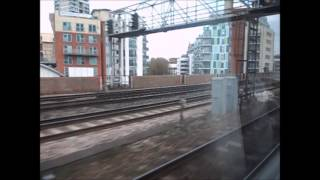 preview picture of video 'Charing Cross to Grove Park, train journey.'