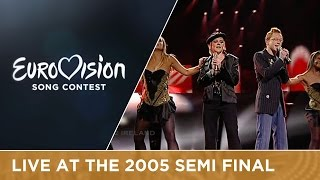Donna and Joe - Love? (Ireland) Live - Eurovision Song Contest 2005