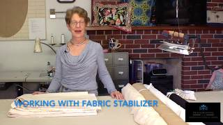 Episode 51 - Using Fabric Stabilizer