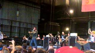 Every Time I Die - Ebolarma (Live Camden PA 20th July 2012) WARPED TOUR