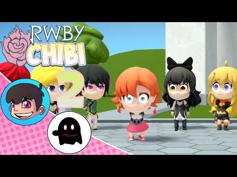 RWBY Chibi Season 1 Episodes 7-9 Reaction - FalconsCrest