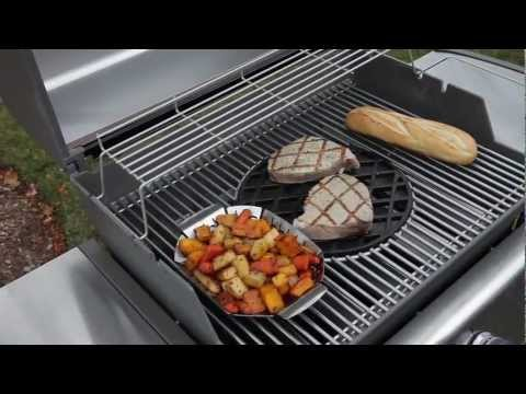 Gourmet BBQ System™—Stainless Steel Cooking Grates for Genesis® Series Gas Grills