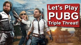 PUBG Triple Threat with Aoife, Ian and Johnny - Let's Play PUBG