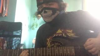 ANTHRAX - Taking The Music Back (Guitar Cover)
