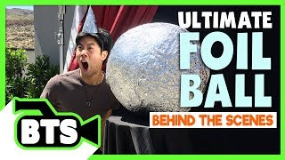 Making the Foil Ball Contraption! (BTS) - Video Youtube