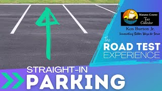Thumbnail image of YouTube video for Straight-in Parking road test video