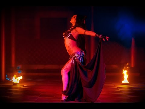 """Diana Bastet Metal Belly Dance. Lamb of God """"Walk with me in hell"""""""