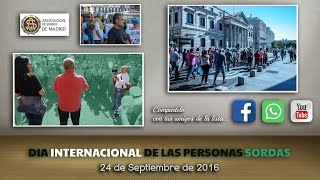 DIA INTERNACIONAL DE PERSONAS SORDAS - 2016