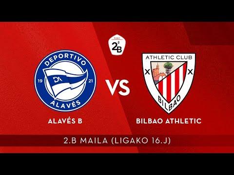 🔴 LIVE | Alavés B vs Bilbao Athletic | 2.B 2020-21 I J 16. jardunaldia