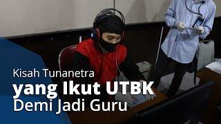 Kisah Atlet Judo Tunanetra Ikuti UTBK UNS Jalur Disabilitas, Ungkap Keinginannya Jadi Guru