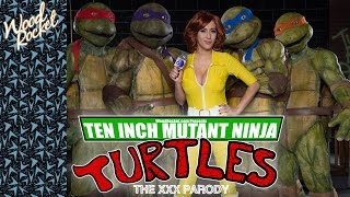 TMNT Porn Parody: Ten Inch Mutant Ninja Turtles (Trailer)