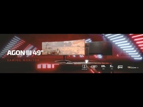 """AOC AG493UCX (49"""", 5120 x 1440 pixels)"""
