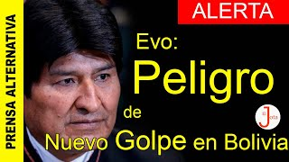 ALERTA - Evo: Están Preparando Otro Golpe En Bolivia
