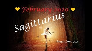 Sagittarius ♐️💖Just Breathe! Things are moving! February 2020 Tarot Reading