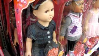 "18"" My life dolls at Walmart 2/1/15"