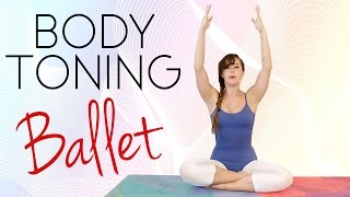 Total Body Ballet Workout for Beginners: Tone & Shape, 20 Minute Dance Class, How to, At Home