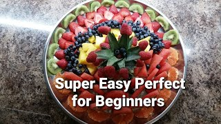 How To Make A Beautiful Fruit Platter At Home Easy