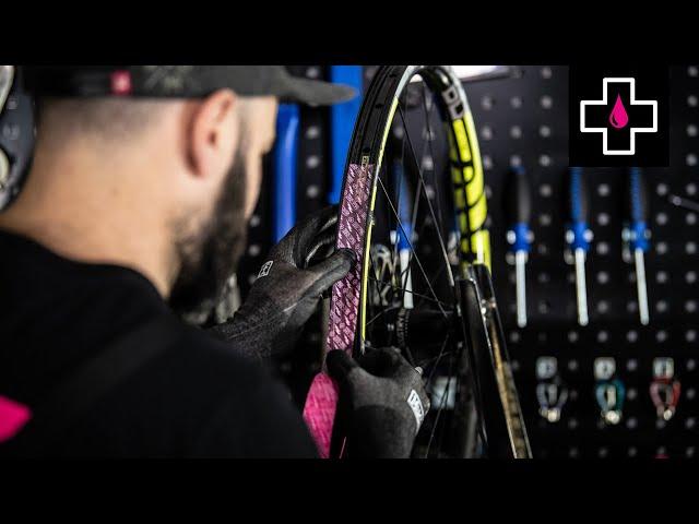 Видео Лента Muc-Off Tubeless Rim Tape 50m
