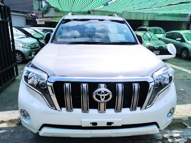 Toyota Prado TX L Package 2.7 2016 for Sale in Lahore