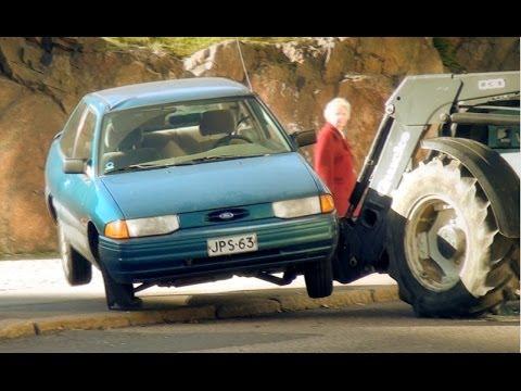 Duudsonien Jarppi tekeytyi maajussiksi ja teki traktorilla parkkitilaa – joutui pidätetyksi