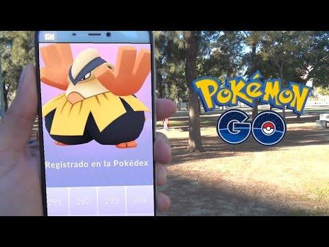 PRIMERAS CAPTURAS DE 3 GENERACIÓN! PRIMERA CAPTURA ÉPICA! [Pokémon GO-davidpetit]