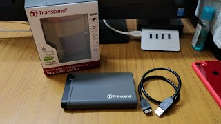 Transcend 2.5 inch HDD or SSHD or SSD Enclosure