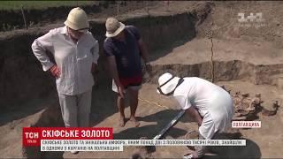 Археологи знайшли унікальні скіфське золото на Полтавщині