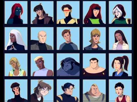 X-Men Evolution Theme (Without SFX)