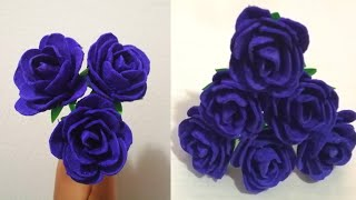 Egg Tray Craft Ideas   Rose Flowers From An Egg Carton   Beautiful Rose Flowers