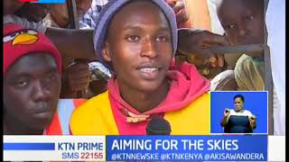 SELF-MADE ENGINEER: Eldoret student builts his own helicopter