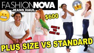 FASHION NOVA HAUL 2020 | $600 FASHION NOVA PLUS SIZE HAUL & SIZE COMPARISON | FASHION NOVA JEANS
