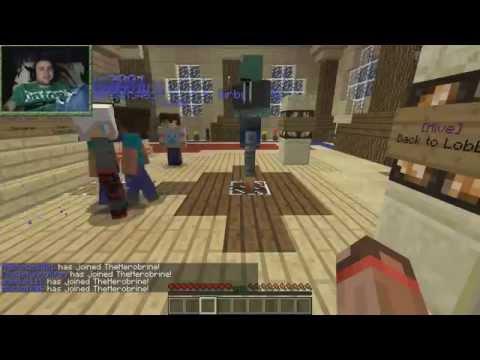[ч.06] Minecraft - The Herobrine с Минифистом ( HiveMC.eu )