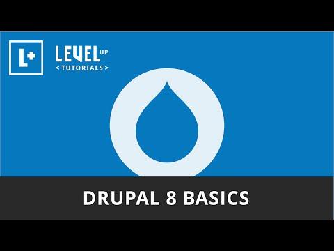 Drupal 8 Basics - Series Introduction - YouTube