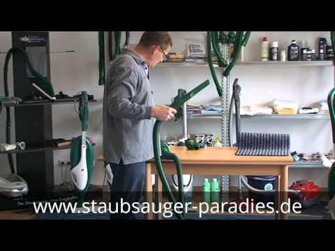 www.staubsauger-paradies.de zeigt Ihnen wie Sie mit dem Vorwerk Kobold 130 131 Ihre Wohnung saugen