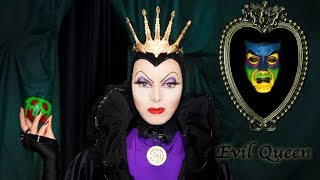 Evil Queen Snow White Makeup Tutorial - Halloween