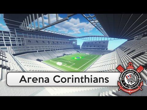 Estádio do Corinthians é construído por um jogador de MineCraft estrangeiro