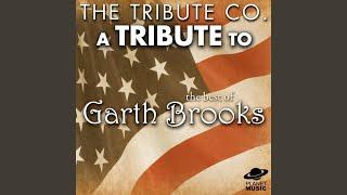 Garth Brooks Workin' For A Livin'