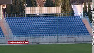 На трибунах спортивно-оздоровительного комплекса «Севастополь» заменили сидения
