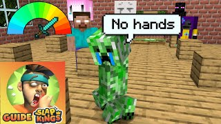 Monster School : Poor Creeper ( Slap Kings ) - Funny Minecraft Animation